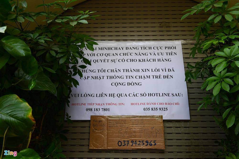 Nhà hàng, xưởng sản xuất pate Minh Chay đóng cửa, niêm phong-2