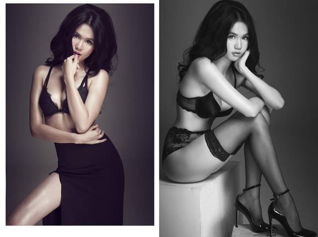 Sau ảnh nude, Ngọc Trinh tiếp tục thiêu đốt mạng xã hội với clip mặc nội y ren mỏng tang-6