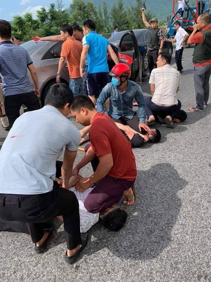 CLIP: Cảnh sát Hà Tĩnh nổ súng vây bắt nhóm buôn ma túy như phim hành động-3