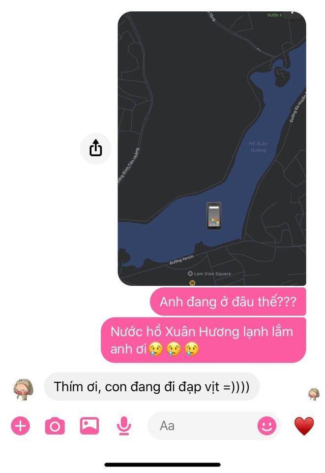 Bạn gái hốt hoảng khi thấy người yêu đứng giữa hồ Xuân Hương nhưng sự thật bất ngờ-1