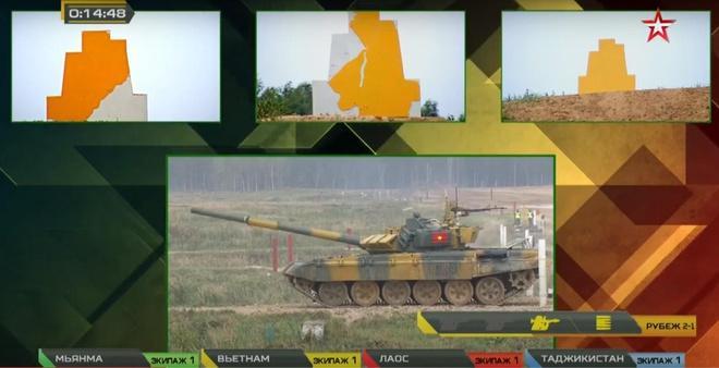 Đội xe tăng Việt Nam lần đầu vô địch bảng 2 Tank Biathlon-3