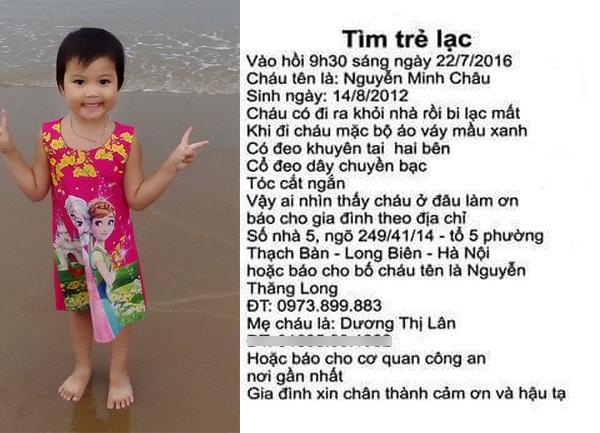Vụ bé gái Hà Nội mất tích 4 năm chưa tìm thấy: Người cha thêm rối bời vì bị quấy rầy bởi hình ảnh bé gái từ Trung Quốc-5