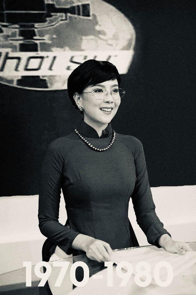 Mai Ngọc gợi nhớ lại huyền thoại Kim Tiến khi tái hiện hình ảnh MC VTV trong 50 năm qua-1