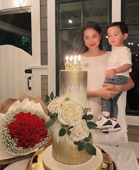 Đón sinh nhật thứ 29, Phạm Hương vẫn quyết giấu bố của con trai-3