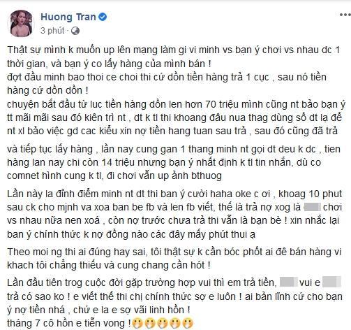 Vợ cũ Việt Anh tố Hồng Quế nợ nần, tình chị em thân thiết đã toang-5