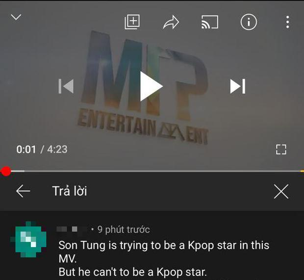 Netizen Hàn bất ngờ tràn vào bình luận khiếm nhã Hãy Trao Cho Anh của Sơn Tùng-1