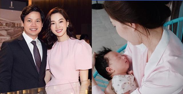 Hoa hậu Đặng Thu Thảo rụng tim vì một câu nói của ái nữ 2 tuổi-5