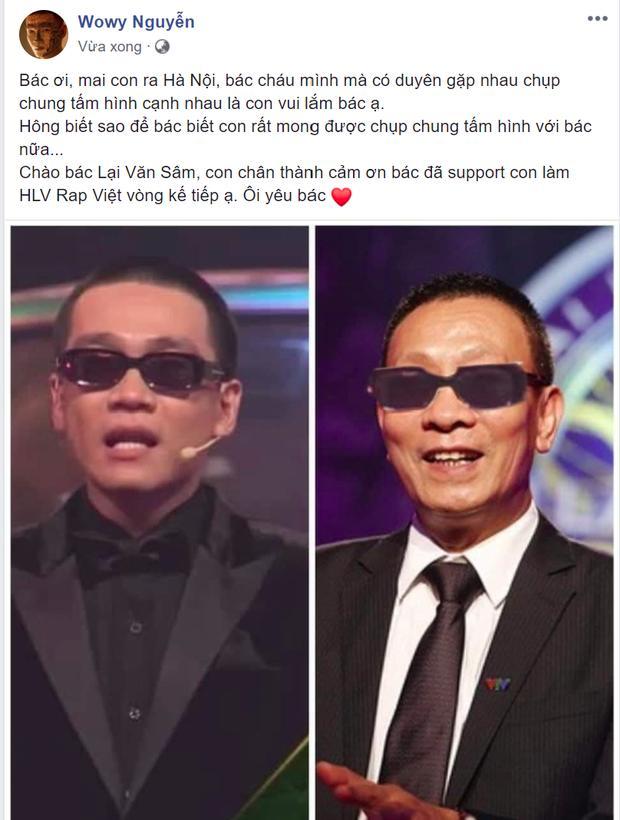 MC Lại Văn Sâm phát sốt khi bị ghép ảnh với rapper Wowy-1