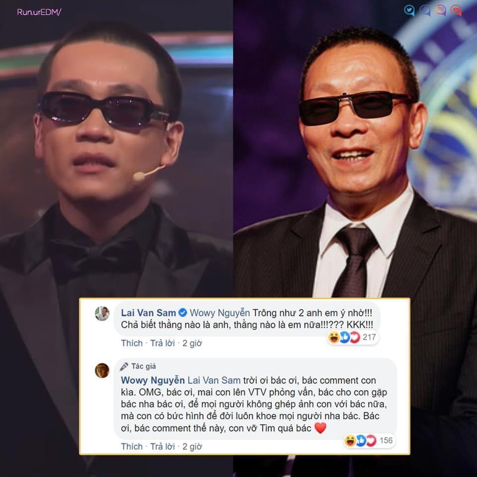 MC Lại Văn Sâm phát sốt khi bị ghép ảnh với rapper Wowy-2