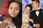 Quỳnh Anh nhợt nhạt sau sinh, Duy Mạnh công khai 'chê' vợ là bà béo