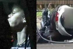 Rihanna thâm tím mặt vì ngã xe máy điện
