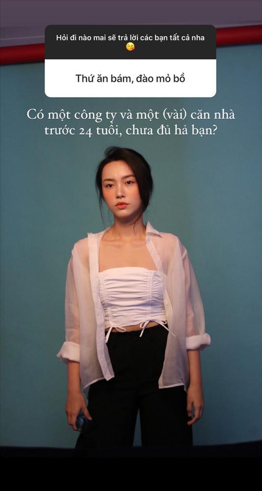 Bị nói ăn bám, đào mỏ Quang Đạt, Hà Trúc thẳng thắn: 24 tuổi có công ty, vài căn nhà, chưa đủ hả?-1