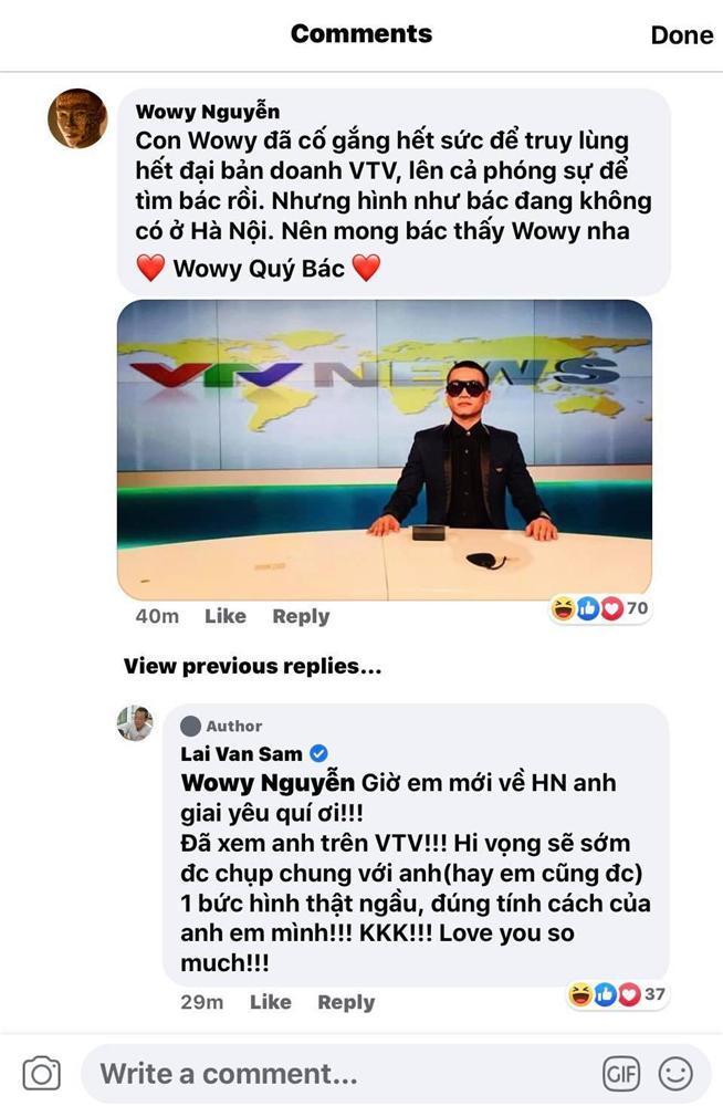 Wowy bay chuyến gấp nhất ra Hà Nội truy lùng người anh thất lạc Lại Văn Sâm-6