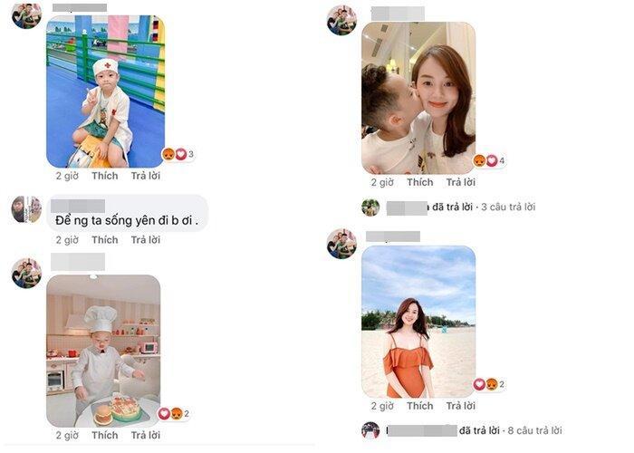 Kỳ Hân khoe bụng bầu 7 tháng, anti-fan liên tục bình luận hình bạn gái cũ và con chồng-2