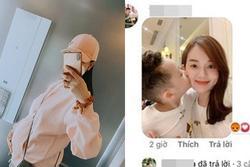 Kỳ Hân khoe bụng bầu 7 tháng, anti-fan liên tục bình luận hình bạn gái cũ và con chồng