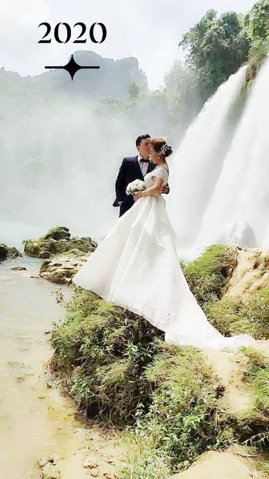 Cô dâu Cao Bằng kỷ niệm 2 năm ngày cưới, không ngại khoe ảnh hôn chồng trẻ-4