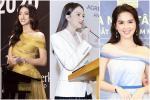 Hương Giang, Ngọc Trinh gợi cảm chết người trong ngày nhậm chức CEO