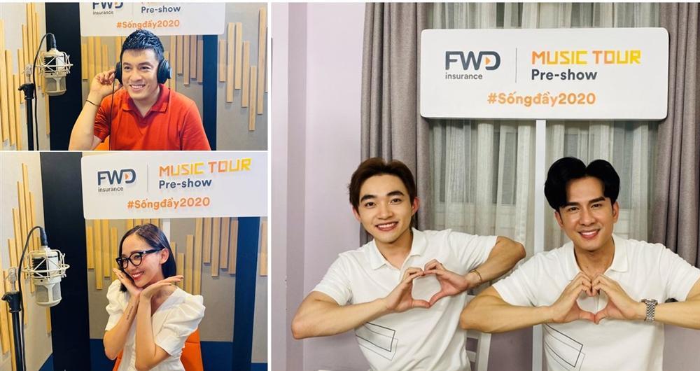 FWD Music Tour Pre-show hút fan không chỉ bởi dàn sao khủng-1
