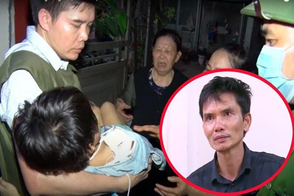 Gã bố đẻ đánh gãy tay con gái 6 tuổi ở Bắc Ninh: Tôi không phải hổ dữ-2