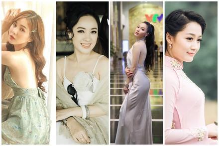 Nhan sắc xinh đẹp của 4 nữ MC VTV khi đóng phim truyền hình