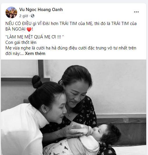 MC Hoàng Oanh bật mí người giúp đỡ vượt cạn khi chồng không ở bên-1
