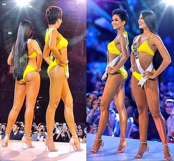 Chiều cao thật thật ảo ảo của Hoa hậu HHen Niê-3