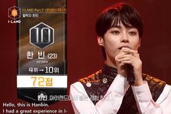 Đại diện Việt Nam Hanbin bị loại ở top 10, khép lại giấc mơ debut làm đàn em BTS