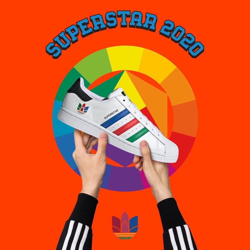 Mix đồ 'chất lừ' với giày Superstar và trang phục adicolor-3