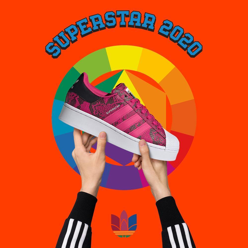 Mix đồ 'chất lừ' với giày Superstar và trang phục adicolor-4