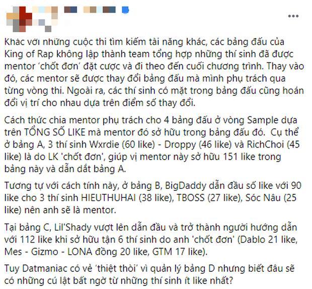 Netizen chỉ trích King Of Rap vì sân khấu tối, beat dìm thí sinh, luật khó hiểu...-2