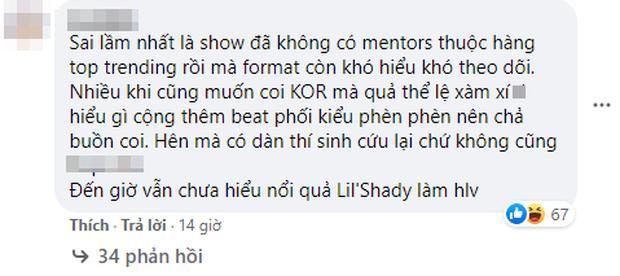 Netizen chỉ trích King Of Rap vì sân khấu tối, beat dìm thí sinh, luật khó hiểu...-7