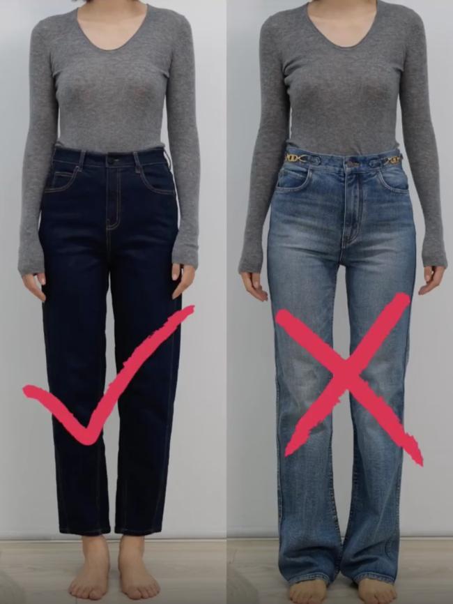Thử tới 5 dáng quần jeans, cuối cùng cô nàng này đã tìm được cho mình 1 thiết kế ưng ý-1