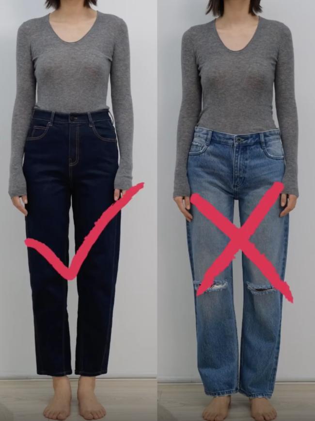 Thử tới 5 dáng quần jeans, cuối cùng cô nàng này đã tìm được cho mình 1 thiết kế ưng ý-3