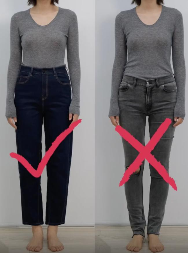 Thử tới 5 dáng quần jeans, cuối cùng cô nàng này đã tìm được cho mình 1 thiết kế ưng ý-4