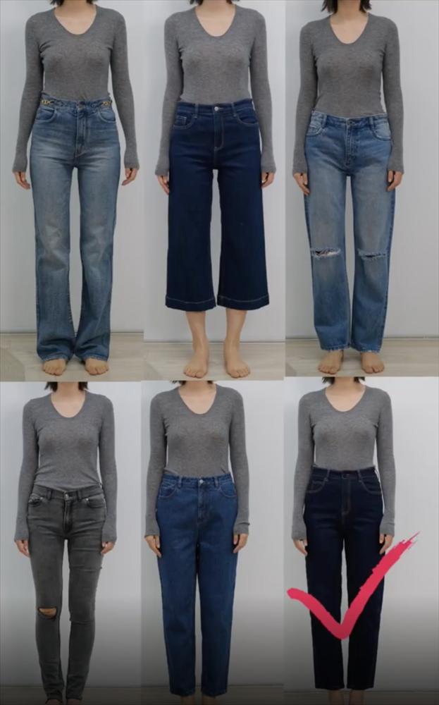 Thử tới 5 dáng quần jeans, cuối cùng cô nàng này đã tìm được cho mình 1 thiết kế ưng ý-5