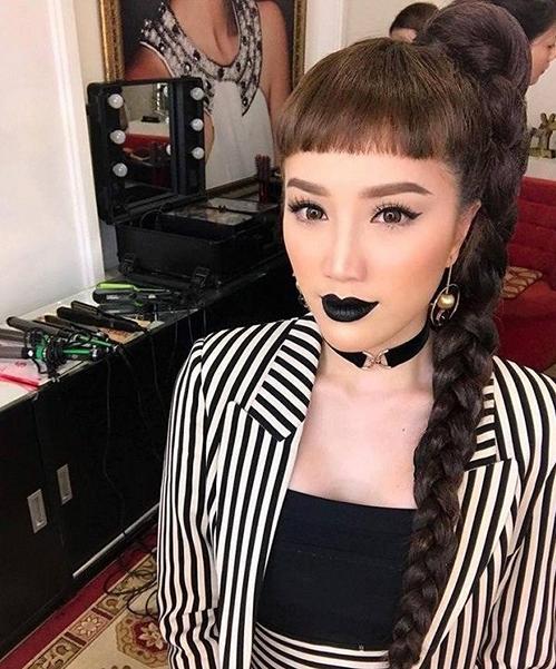 Mỹ nhân Việt để kiểu tóc chuột gặm quê quê: Elly Trần xuất sắc, Hương Giang thì đúng là sai lầm-10