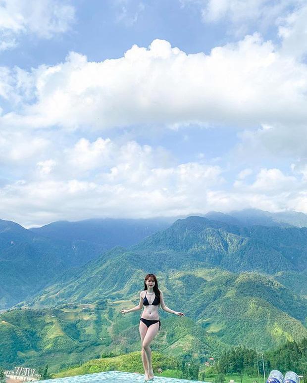 Bạn gái Quang Hải gây chú ý lần đầu khoe cận body gợi cảm khi diện bikini-3