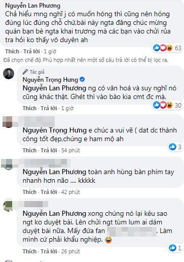 Bị tấn công dồn dập, Nguyễn Trọng Hưng đáp trả gắt antifan: Người có văn hóa sẽ suy nghĩ khác-3