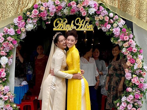 Chị dâu Khánh Vân gây bất ngờ với nhan sắc ngang ngửa hoa hậu-2