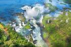 Vẻ đẹp thác nước ngoạn mục nhất Nam Mỹ