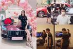Choáng ngợp bộ sưu tập xe hơi vài chục tỷ của Hương Giang ở tuổi 29-9