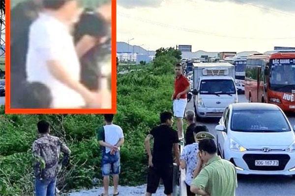 Một chiến sĩ cảnh sát cơ động ở Bắc Giang bị xe bán tải tông tử vong, tài xế rồ ga bỏ chạy-1