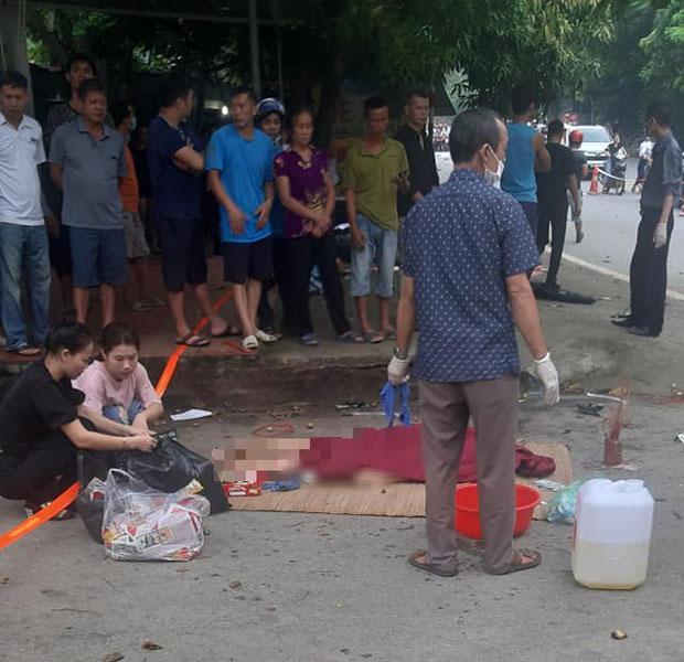 Va chạm với ô tô lúc rạng sáng, 3 phụ nữ ở Phú Thọ tử vong tại chỗ-1
