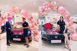 Matt Liu tặng Hương Giang siêu xe 8 tỷ hay là chính hoa hậu tự mua?