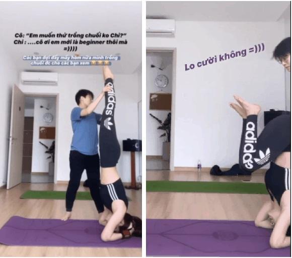 Mới ngày nào còn ngã nhào giờ đây Chi Pu trình diễn yoga múa điêu luyện-6