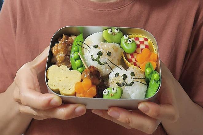 Bà mẹ Nhật Bản nổi khắp cõi mạng nhờ thích sáng tạo cơm hộp bento cho con-5