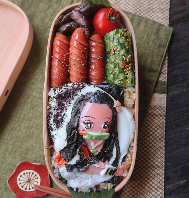 Bà mẹ Nhật Bản nổi khắp cõi mạng nhờ thích sáng tạo cơm hộp bento cho con-6