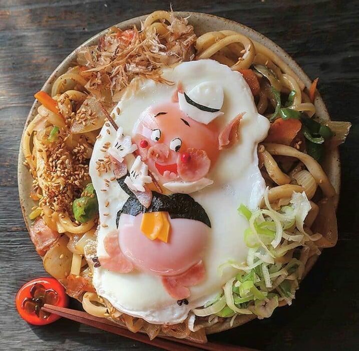 Bà mẹ Nhật Bản nổi khắp cõi mạng nhờ thích sáng tạo cơm hộp bento cho con-11