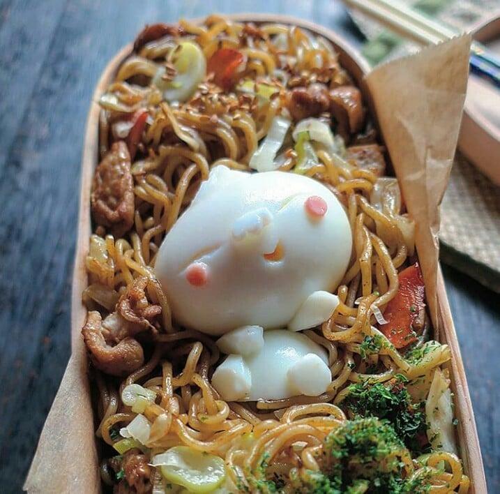 Bà mẹ Nhật Bản nổi khắp cõi mạng nhờ thích sáng tạo cơm hộp bento cho con-12