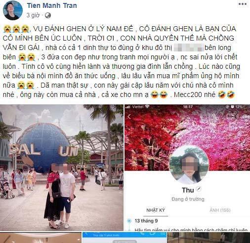 Người thân cô vợ đánh ghen ở Lý Nam Đế bóc trần sự thật về Tuesday-2
